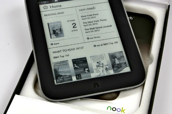 Nook Simple Touch Review An Amazing Ereader For An